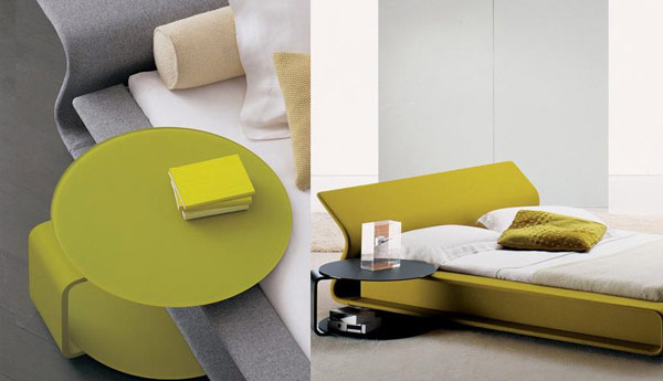 Image of: color modern nightstands
