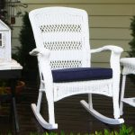 Color Wicker Rocking Chair Ideas