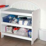 corner changing table design elegant