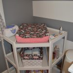 corner changing table for baby