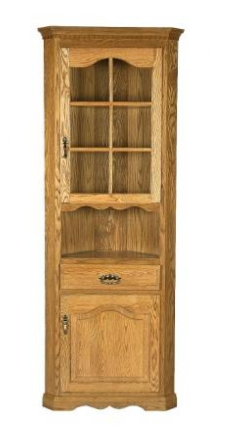 Image of: corner hutch