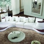 curved sofa design