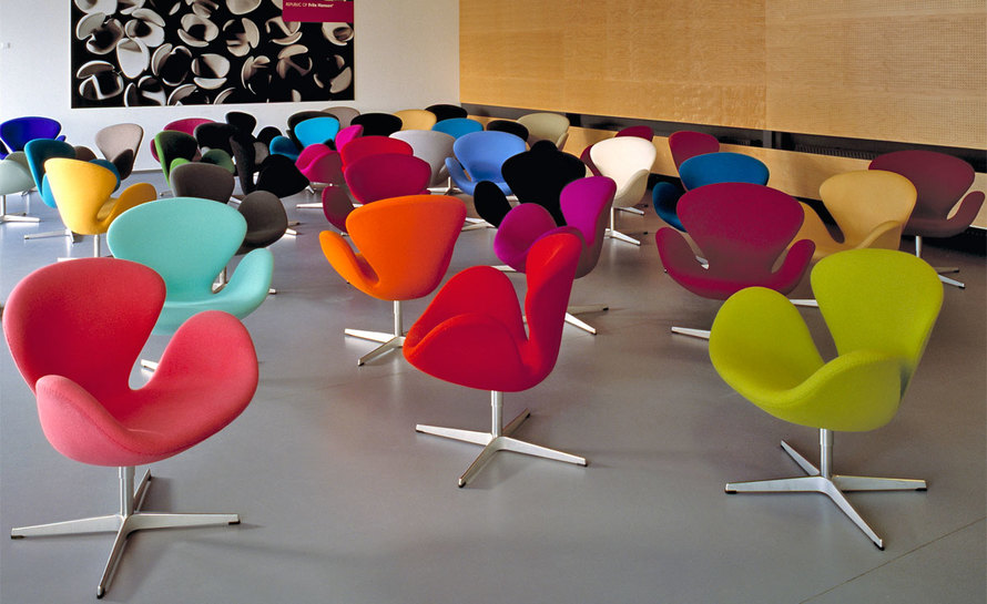 Image of: design of Swan Chair