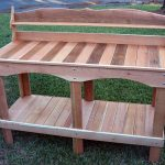 design of potting bench