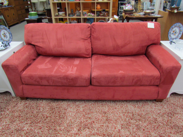 Easy Clean Microfiber Sofa