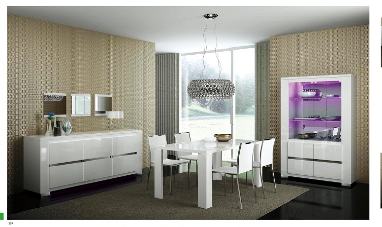 Picture of: elegance modern dining room sets