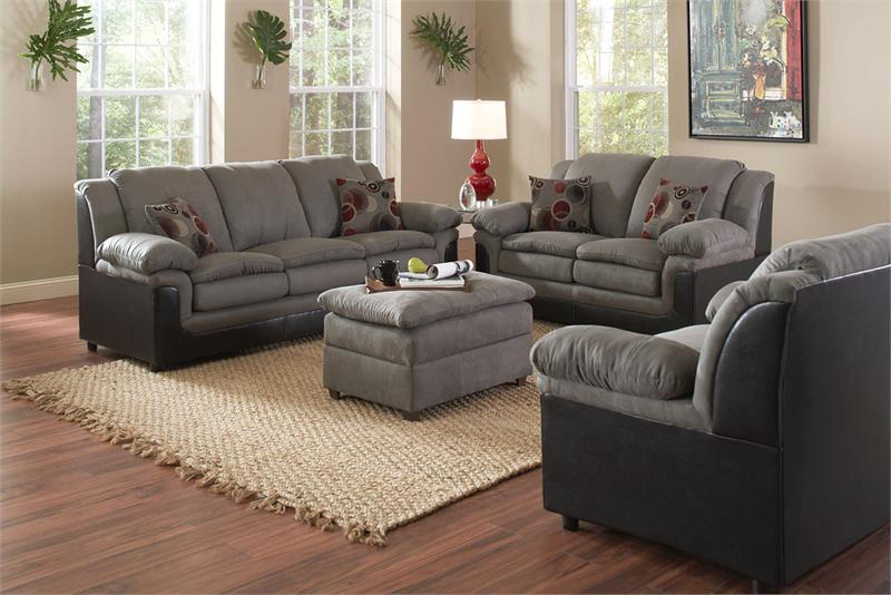 Picture of: elegant microfiber sofa