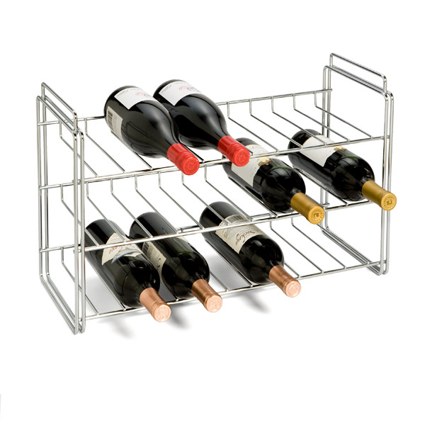 Image of: fashionable wine rack plans