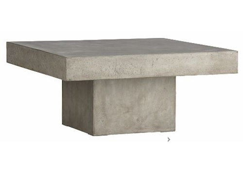 Image of: granite Stone Coffee Table