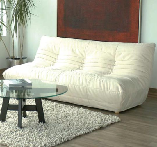 Image of: great togo sofa white