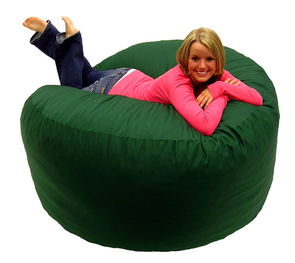 green fuf chair