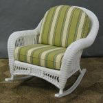 image wicker rocking chair