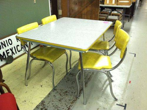 Image of: images Retro Kitchen Table