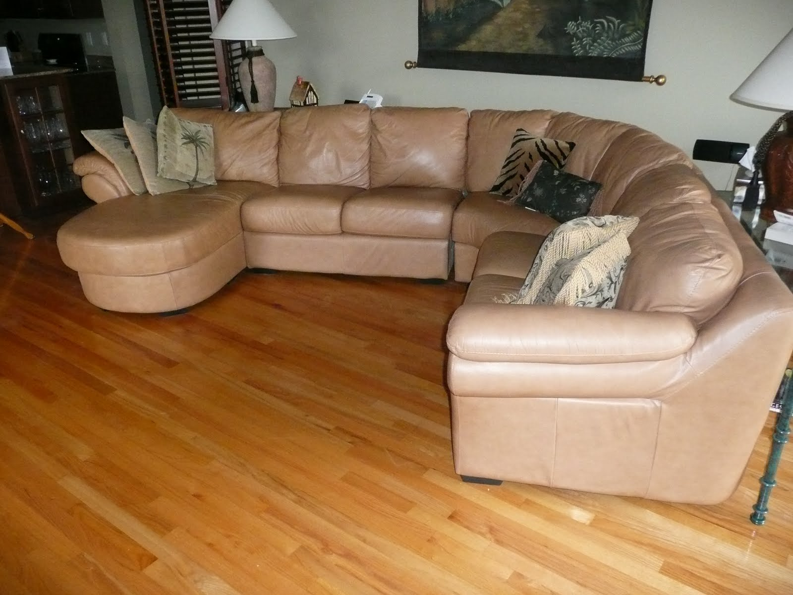 interior leather sectional sofas