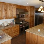 knotty alder cabinets pictures eclectic kitchen