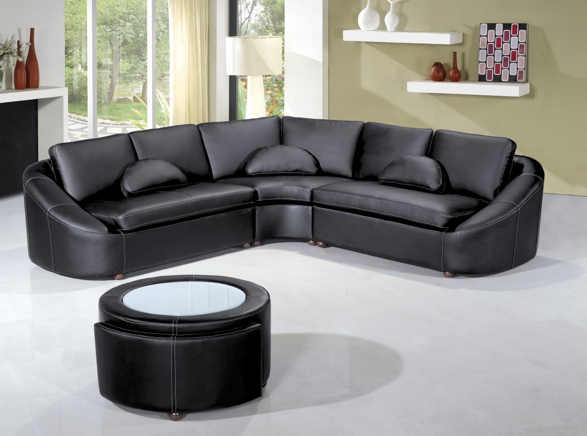 Picture of: leather sectional sofas in design