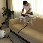microfiber sofa cleaner