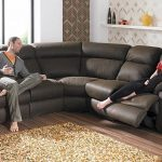 modern couches in shaped