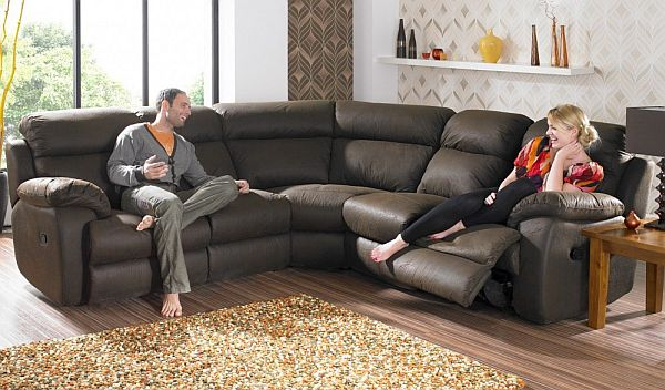 Image of: modern couches in shaped