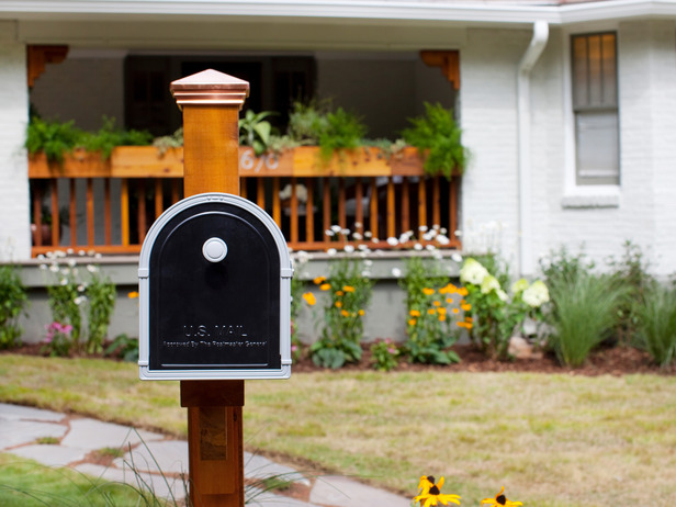 Image of: modern mailbox design