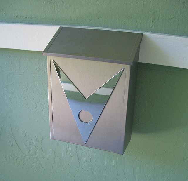 Image of: modern mailbox ideas