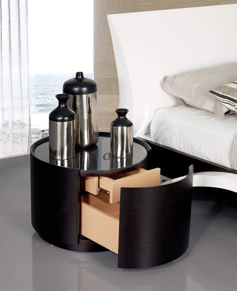 Image of: modern nightstands photo