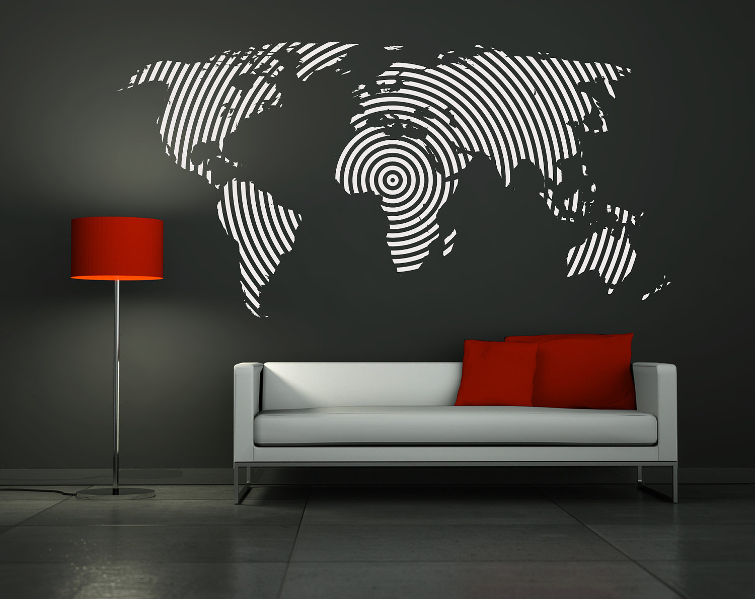Image of: modern wall decals pictures