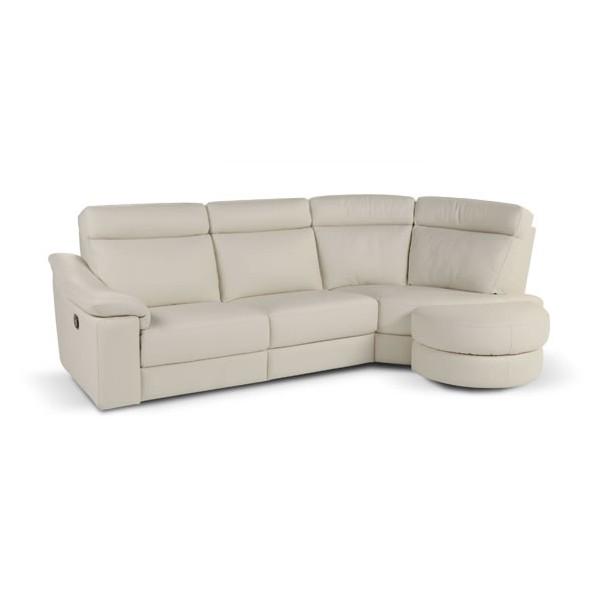 Image of: modular Italian Leather Sofa