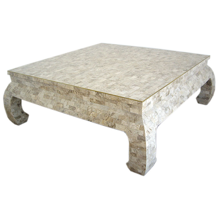 Image of: nice Stone Coffee Table