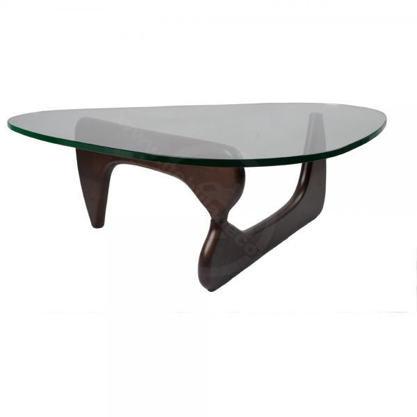 Image of: noguchi coffee table dark