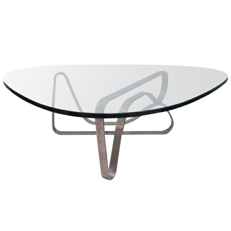 Image of: noguchi coffee table steel ideas