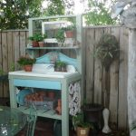 outdoor furniture potting bench