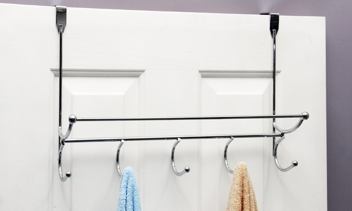 Over The Door Towel Rack Design
