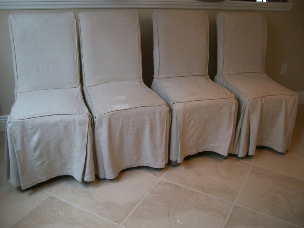 Parsons Chair Slipcovers Simple