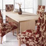 parsons chair slipcovers with teble
