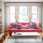 pink decorative pillows for couch