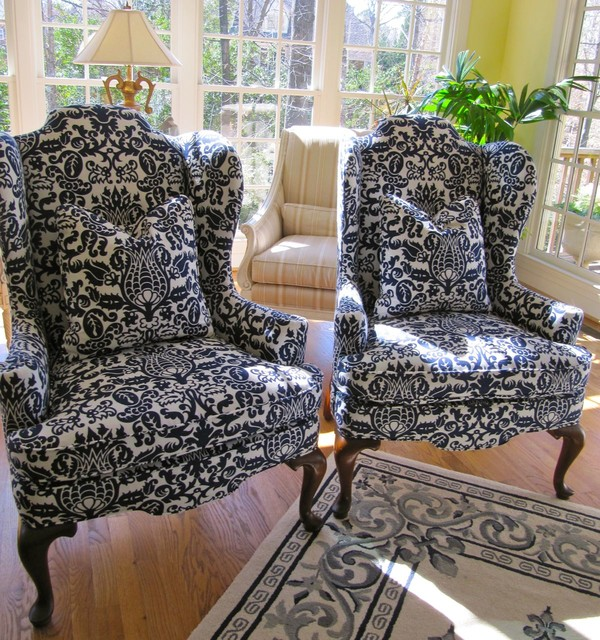 Picture of: pretty wingback chairs