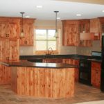 resized knotty alder cabinets