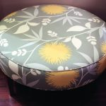 round ottoman coffee table stylish
