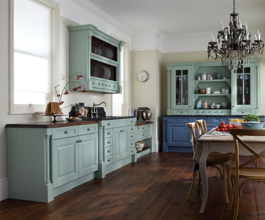 Image of: rustic kitchen cabinets furniture