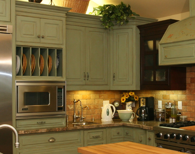 Image of: rustic kitchen cabinets ideas