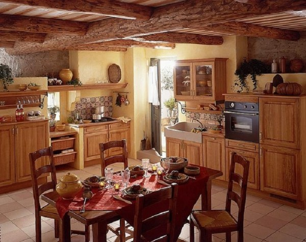 Image of: rustic kitchen cabinets inspiration