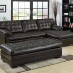 sectional sofa with chaise ounge brown leather