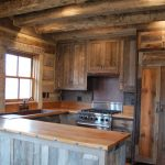 Simple Rustic Kitchen Cabinets Design