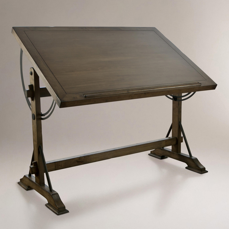 Picture of: strong vintage drafting table