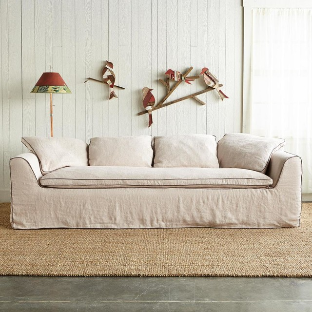 Traditional Slipcovered Sofas
