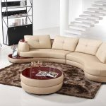 Trendy Curved Sofa