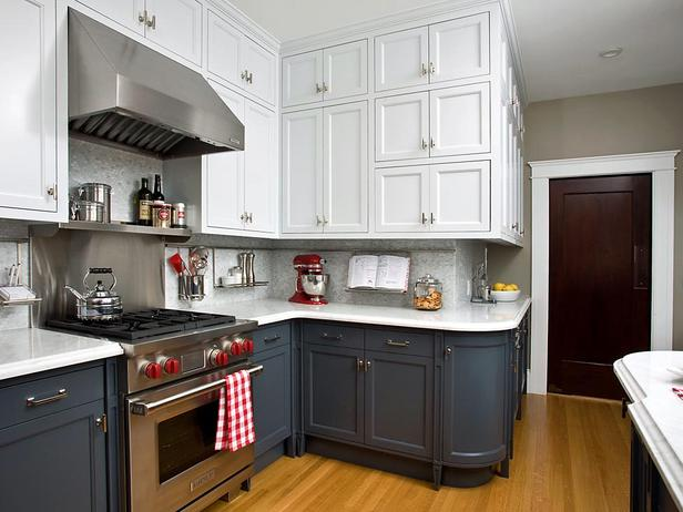 two tone kitchen cabinets 2014
