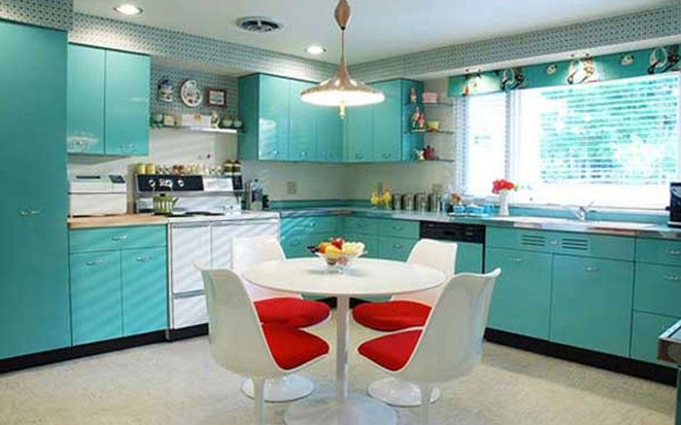 Image of: two tone kitchen cabinets decoration