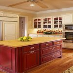 two tone kitchen cabinets elegant design